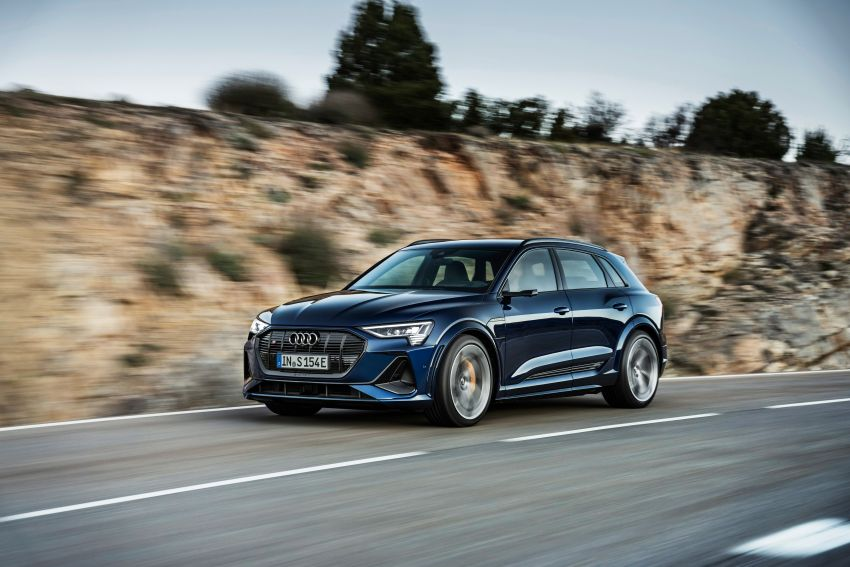 Audi e-tron S and e-tron S Sportback debut with three electric motors – 503 PS, 937 Nm; 0-100 km/h in 4.5s Image #1175565