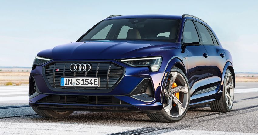 Audi e-tron S and e-tron S Sportback debut with three electric motors – 503 PS, 937 Nm; 0-100 km/h in 4.5s Image #1175532