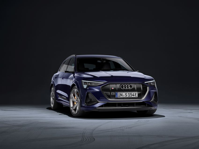 Audi e-tron S and e-tron S Sportback debut with three electric motors – 503 PS, 937 Nm; 0-100 km/h in 4.5s Image #1175570