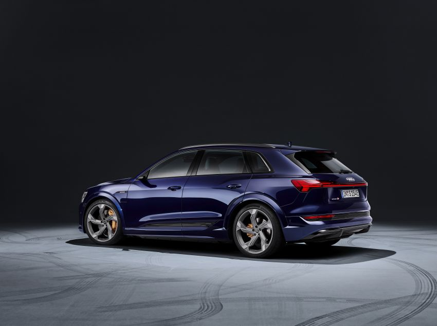 Audi e-tron S and e-tron S Sportback debut with three electric motors – 503 PS, 937 Nm; 0-100 km/h in 4.5s Image #1175571