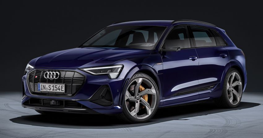 Audi e-tron S and e-tron S Sportback debut with three electric motors – 503 PS, 937 Nm; 0-100 km/h in 4.5s Image #1175573