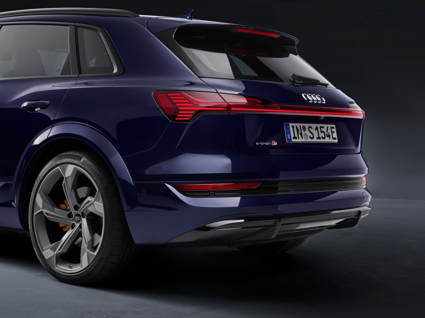 Audi e-tron S and e-tron S Sportback debut with three electric motors – 503 PS, 937 Nm; 0-100 km/h in 4.5s Image #1175578