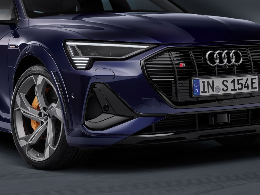 Audi e-tron S and e-tron S Sportback debut with three electric motors – 503 PS, 937 Nm; 0-100 km/h in 4.5s Image #1175579