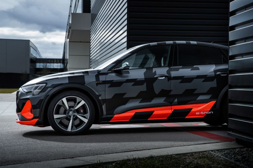 Audi e-tron S and e-tron S Sportback debut with three electric motors – 503 PS, 937 Nm; 0-100 km/h in 4.5s Image #1175588