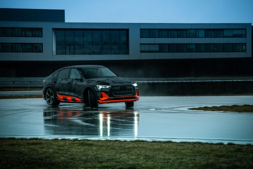 Audi e-tron S and e-tron S Sportback debut with three electric motors – 503 PS, 937 Nm; 0-100 km/h in 4.5s Image #1175590