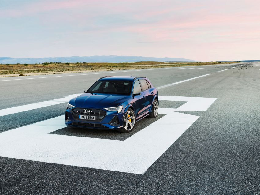 Audi e-tron S and e-tron S Sportback debut with three electric motors – 503 PS, 937 Nm; 0-100 km/h in 4.5s Image #1175534