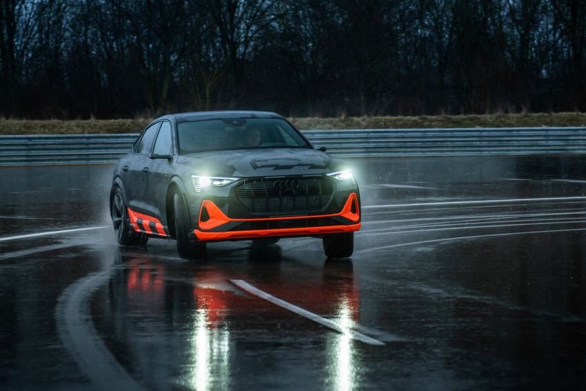 Audi e-tron S and e-tron S Sportback debut with three electric motors – 503 PS, 937 Nm; 0-100 km/h in 4.5s Image #1175593