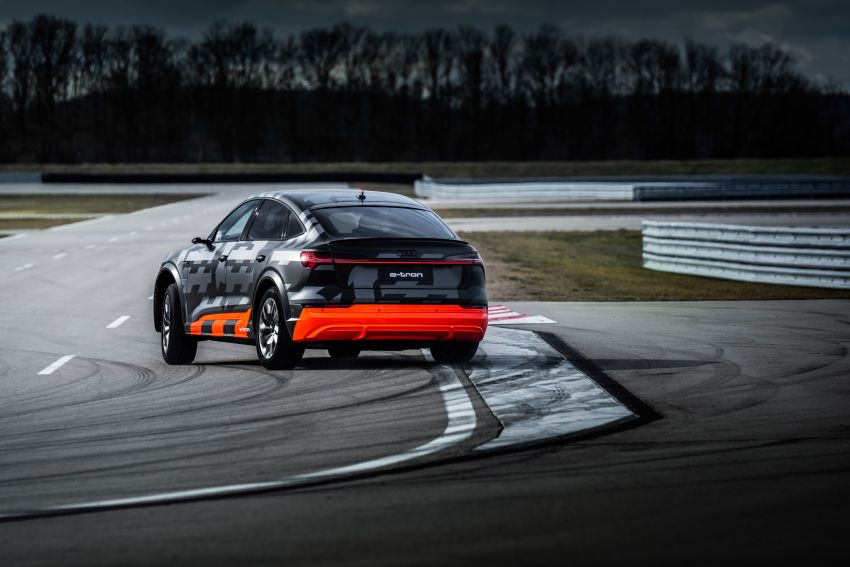 Audi e-tron S and e-tron S Sportback debut with three electric motors – 503 PS, 937 Nm; 0-100 km/h in 4.5s Image #1175596