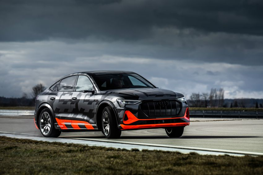 Audi e-tron S and e-tron S Sportback debut with three electric motors – 503 PS, 937 Nm; 0-100 km/h in 4.5s Image #1175597