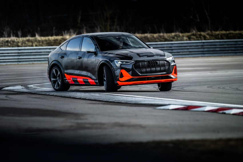 Audi e-tron S and e-tron S Sportback debut with three electric motors – 503 PS, 937 Nm; 0-100 km/h in 4.5s Image #1175598