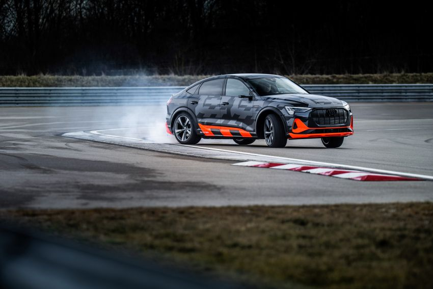 Audi e-tron S and e-tron S Sportback debut with three electric motors – 503 PS, 937 Nm; 0-100 km/h in 4.5s Image #1175599