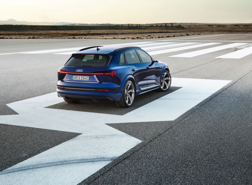 Audi e-tron S and e-tron S Sportback debut with three electric motors – 503 PS, 937 Nm; 0-100 km/h in 4.5s Image #1175535