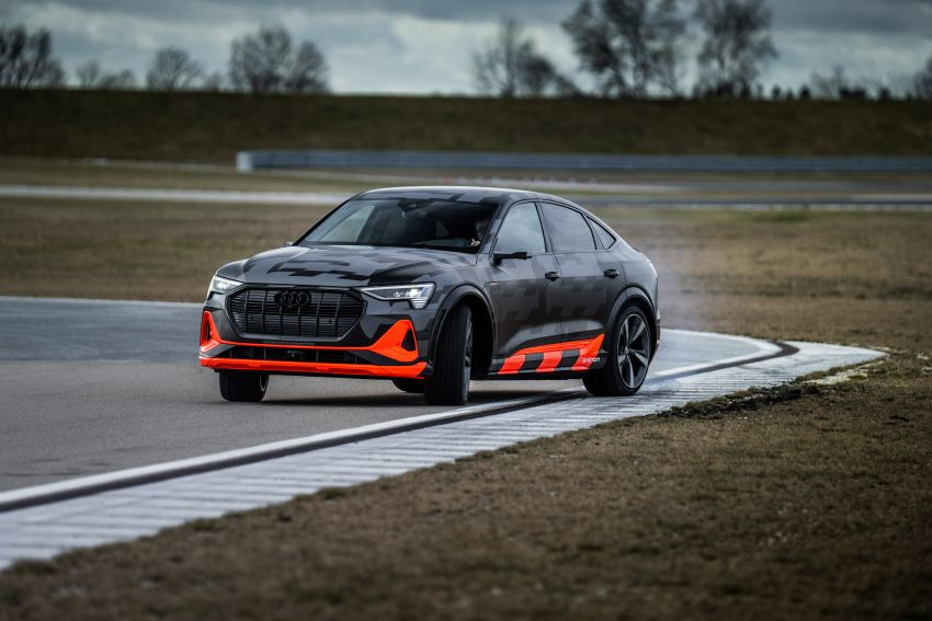 Audi e-tron S and e-tron S Sportback debut with three electric motors – 503 PS, 937 Nm; 0-100 km/h in 4.5s Image #1175601