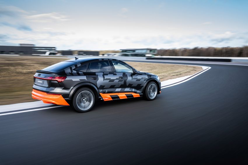 Audi e-tron S and e-tron S Sportback debut with three electric motors – 503 PS, 937 Nm; 0-100 km/h in 4.5s Image #1175603