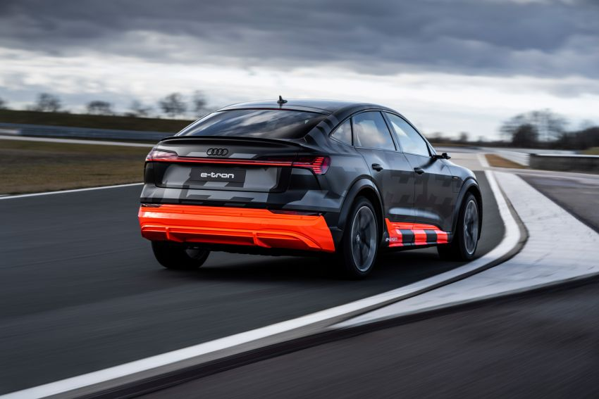 Audi e-tron S and e-tron S Sportback debut with three electric motors – 503 PS, 937 Nm; 0-100 km/h in 4.5s Image #1175604