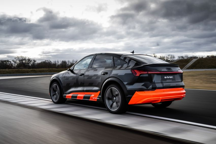 Audi e-tron S and e-tron S Sportback debut with three electric motors – 503 PS, 937 Nm; 0-100 km/h in 4.5s Image #1175606