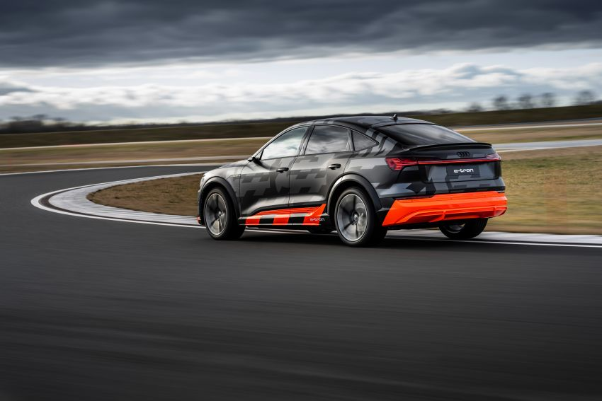 Audi e-tron S and e-tron S Sportback debut with three electric motors – 503 PS, 937 Nm; 0-100 km/h in 4.5s Image #1175607