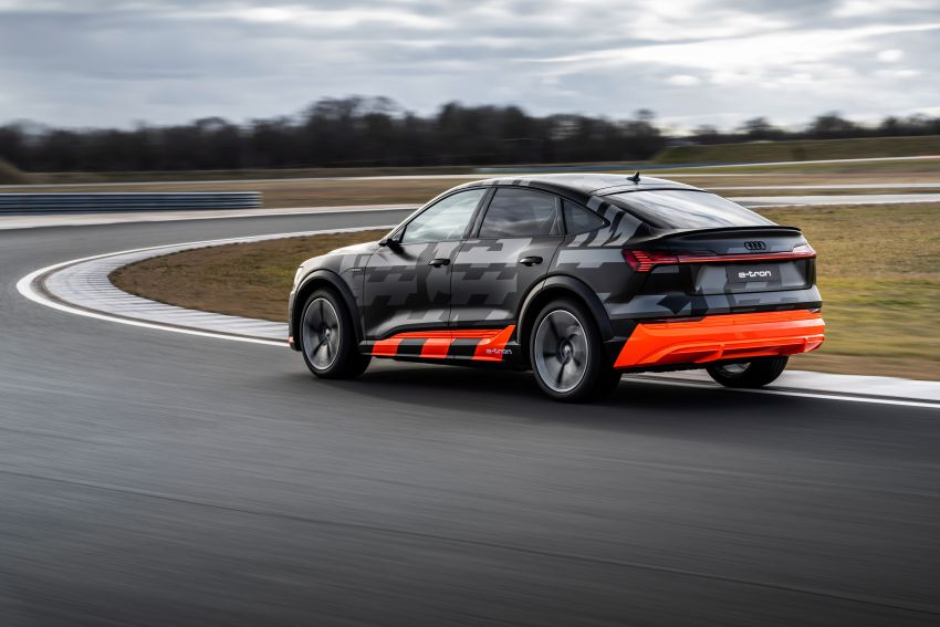 Audi e-tron S and e-tron S Sportback debut with three electric motors – 503 PS, 937 Nm; 0-100 km/h in 4.5s Image #1175609