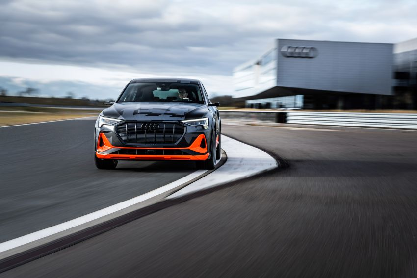 Audi e-tron S and e-tron S Sportback debut with three electric motors – 503 PS, 937 Nm; 0-100 km/h in 4.5s Image #1175610