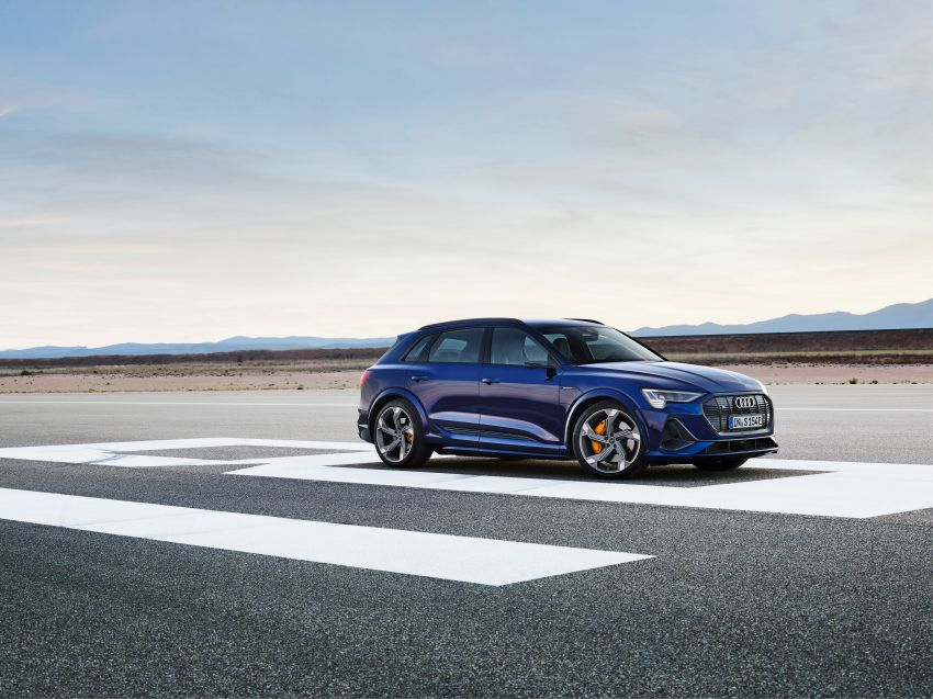 Audi e-tron S and e-tron S Sportback debut with three electric motors – 503 PS, 937 Nm; 0-100 km/h in 4.5s Image #1175536