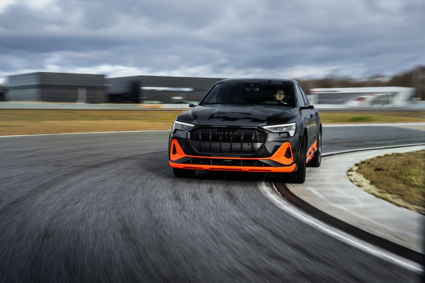 Audi e-tron S and e-tron S Sportback debut with three electric motors – 503 PS, 937 Nm; 0-100 km/h in 4.5s Image #1175611
