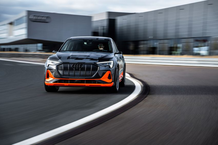 Audi e-tron S and e-tron S Sportback debut with three electric motors – 503 PS, 937 Nm; 0-100 km/h in 4.5s Image #1175612