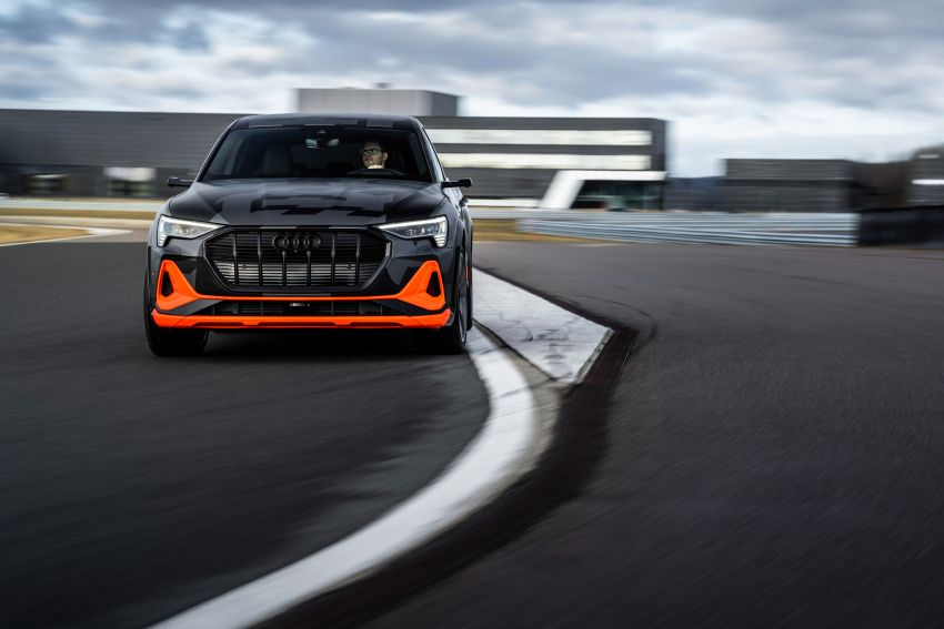 Audi e-tron S and e-tron S Sportback debut with three electric motors – 503 PS, 937 Nm; 0-100 km/h in 4.5s Image #1175614