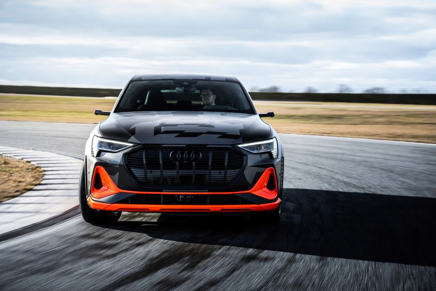 Audi e-tron S and e-tron S Sportback debut with three electric motors – 503 PS, 937 Nm; 0-100 km/h in 4.5s Image #1175617