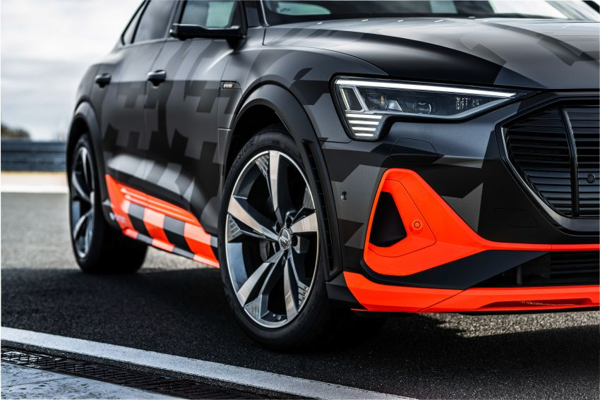 Audi e-tron S and e-tron S Sportback debut with three electric motors – 503 PS, 937 Nm; 0-100 km/h in 4.5s Image #1175624