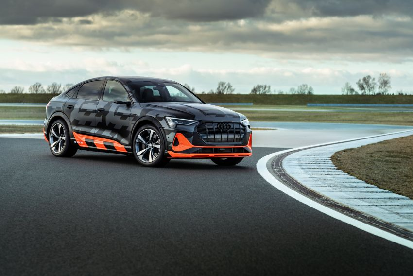 Audi e-tron S and e-tron S Sportback debut with three electric motors – 503 PS, 937 Nm; 0-100 km/h in 4.5s Image #1175627