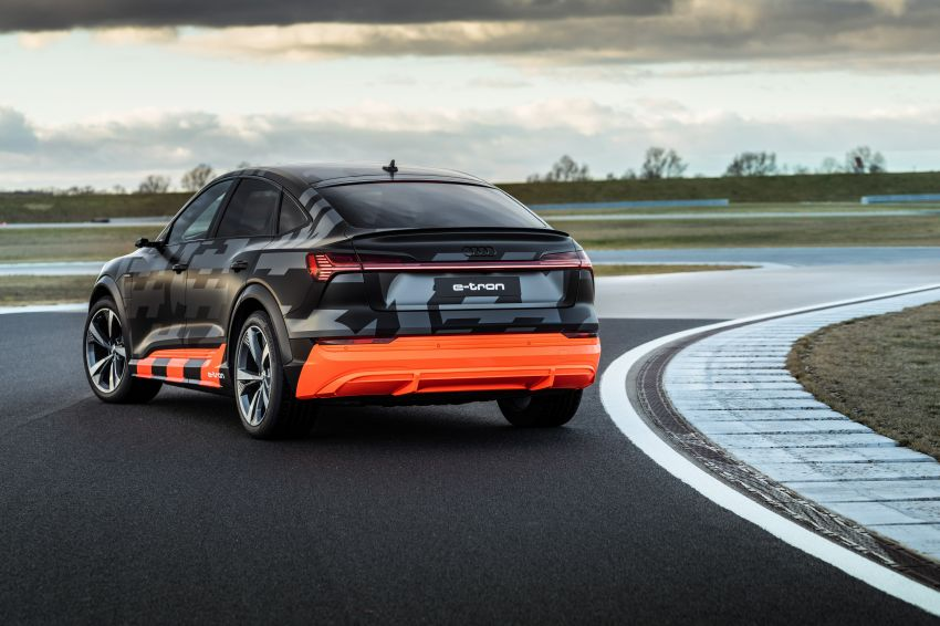 Audi e-tron S and e-tron S Sportback debut with three electric motors – 503 PS, 937 Nm; 0-100 km/h in 4.5s Image #1175628