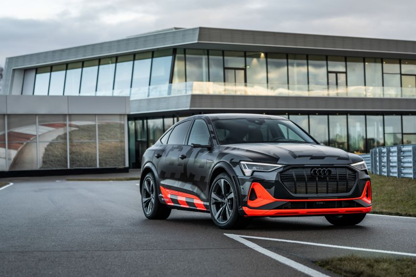 Audi e-tron S and e-tron S Sportback debut with three electric motors – 503 PS, 937 Nm; 0-100 km/h in 4.5s Image #1175630