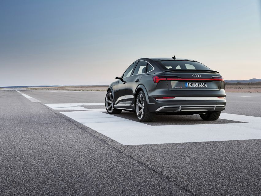 Audi e-tron S and e-tron S Sportback debut with three electric motors – 503 PS, 937 Nm; 0-100 km/h in 4.5s Image #1175661