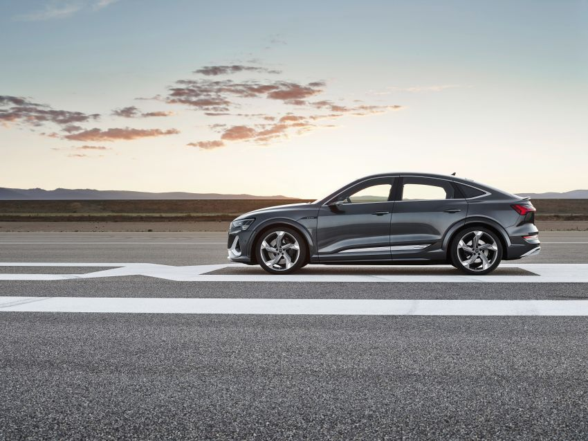 Audi e-tron S and e-tron S Sportback debut with three electric motors – 503 PS, 937 Nm; 0-100 km/h in 4.5s Image #1175662