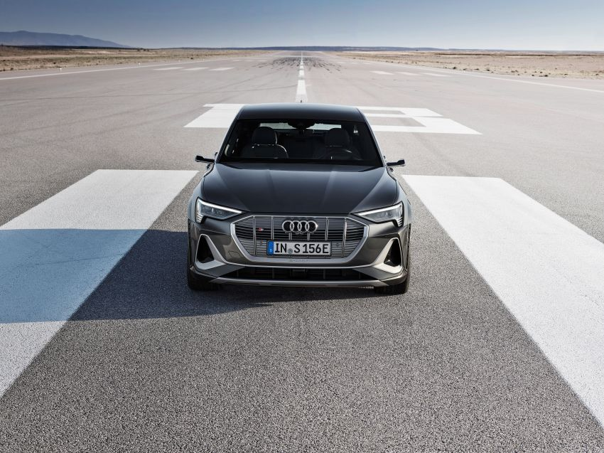 Audi e-tron S and e-tron S Sportback debut with three electric motors – 503 PS, 937 Nm; 0-100 km/h in 4.5s Image #1175663