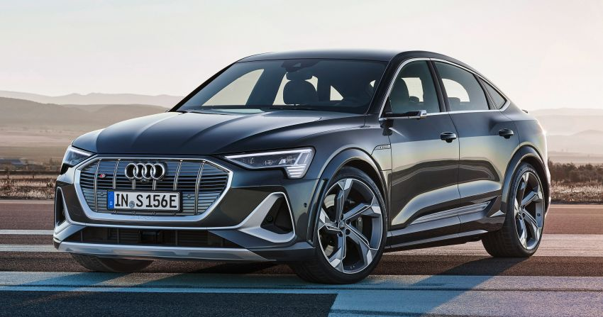Audi e-tron S and e-tron S Sportback debut with three electric motors – 503 PS, 937 Nm; 0-100 km/h in 4.5s Image #1175666