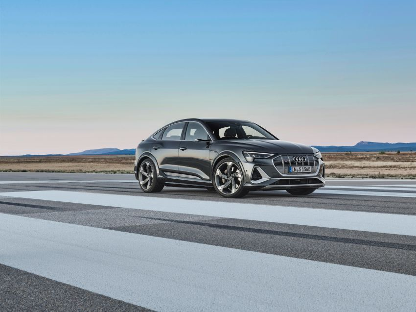 Audi e-tron S and e-tron S Sportback debut with three electric motors – 503 PS, 937 Nm; 0-100 km/h in 4.5s Image #1175668