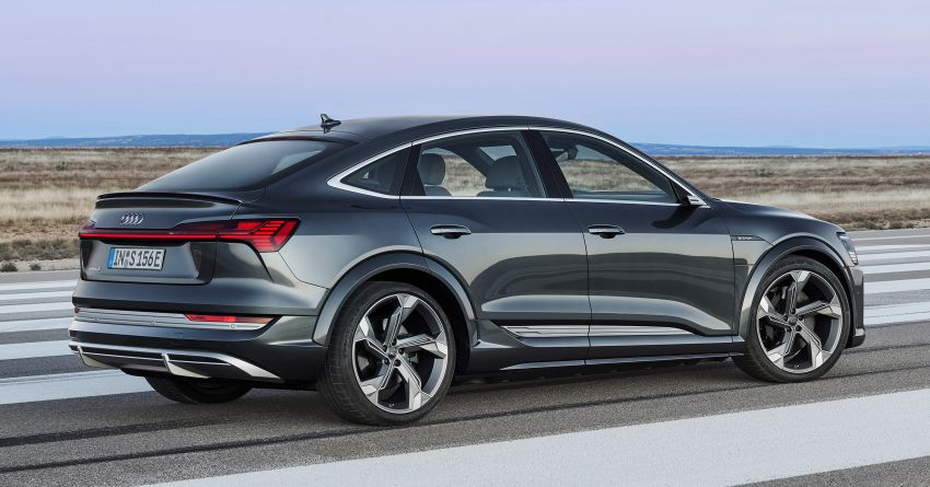 Audi e-tron S and e-tron S Sportback debut with three electric motors – 503 PS, 937 Nm; 0-100 km/h in 4.5s Image #1175669