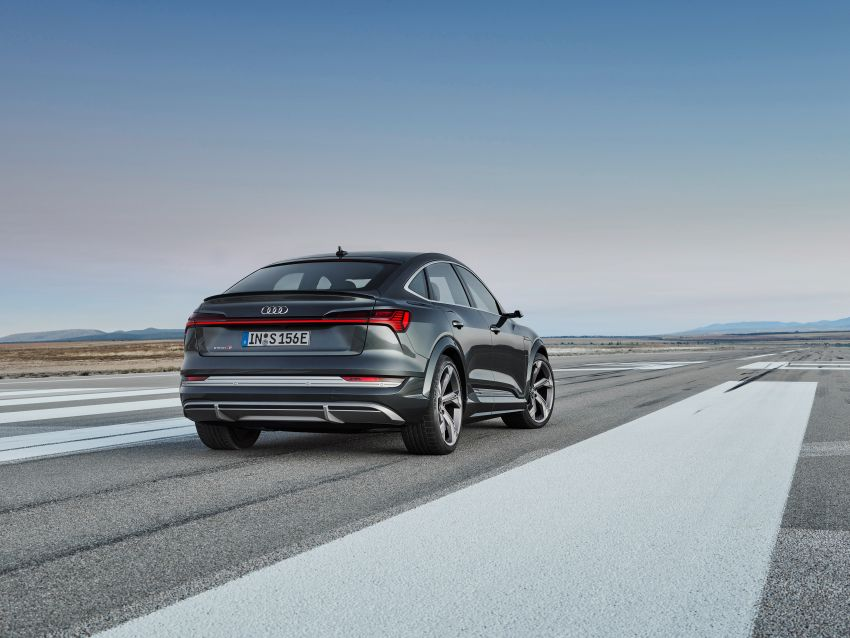 Audi e-tron S and e-tron S Sportback debut with three electric motors – 503 PS, 937 Nm; 0-100 km/h in 4.5s Image #1175670