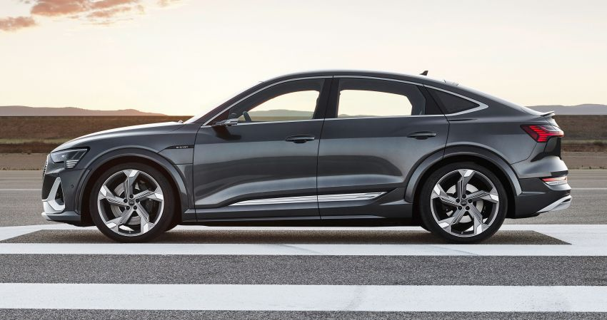 Audi e-tron S and e-tron S Sportback debut with three electric motors – 503 PS, 937 Nm; 0-100 km/h in 4.5s Image #1175651