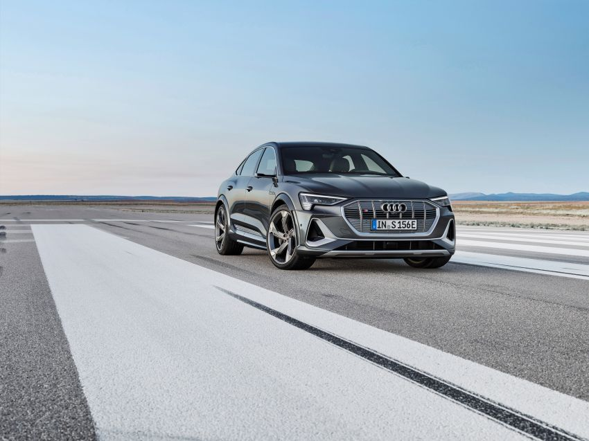 Audi e-tron S and e-tron S Sportback debut with three electric motors – 503 PS, 937 Nm; 0-100 km/h in 4.5s Image #1175672