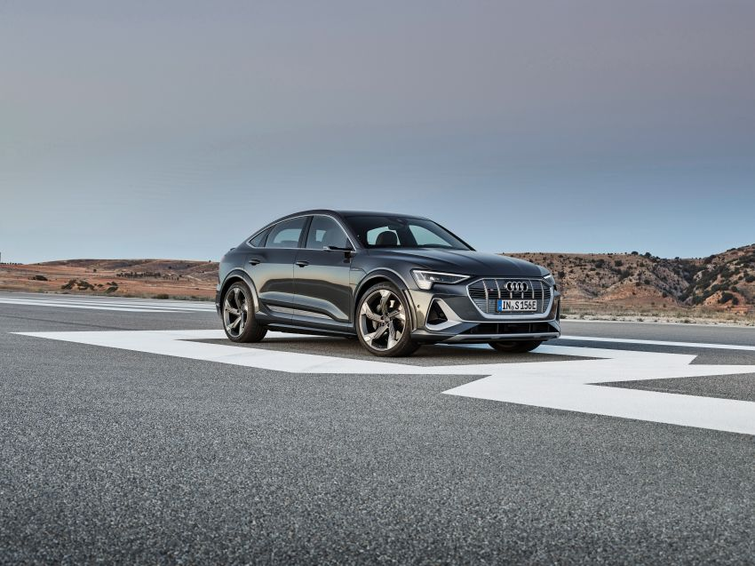Audi e-tron S and e-tron S Sportback debut with three electric motors – 503 PS, 937 Nm; 0-100 km/h in 4.5s Image #1175673