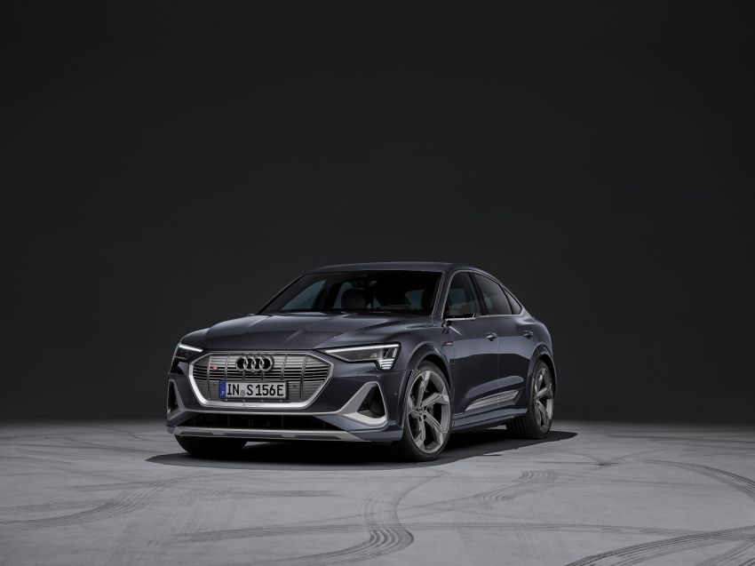 Audi e-tron S and e-tron S Sportback debut with three electric motors – 503 PS, 937 Nm; 0-100 km/h in 4.5s Image #1175675