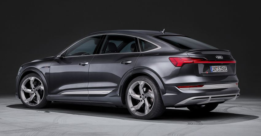 Audi e-tron S and e-tron S Sportback debut with three electric motors – 503 PS, 937 Nm; 0-100 km/h in 4.5s Image #1175679