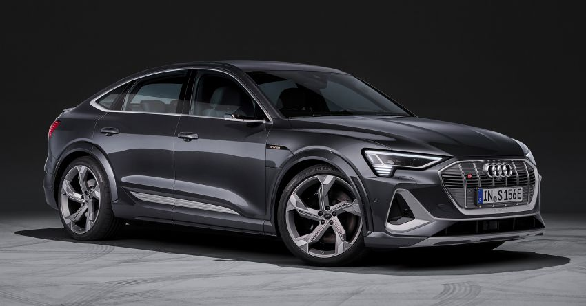 Audi e-tron S and e-tron S Sportback debut with three electric motors – 503 PS, 937 Nm; 0-100 km/h in 4.5s Image #1175680