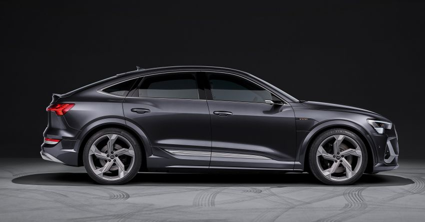 Audi e-tron S and e-tron S Sportback debut with three electric motors – 503 PS, 937 Nm; 0-100 km/h in 4.5s Image #1175681