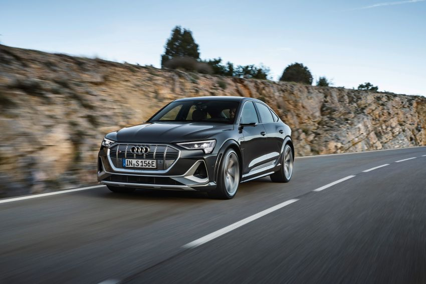 Audi e-tron S and e-tron S Sportback debut with three electric motors – 503 PS, 937 Nm; 0-100 km/h in 4.5s Image #1175687