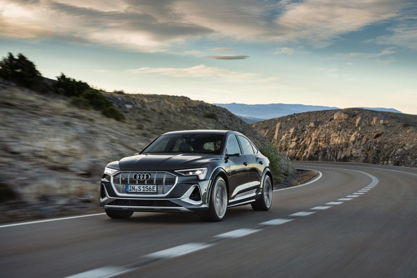 Audi e-tron S and e-tron S Sportback debut with three electric motors – 503 PS, 937 Nm; 0-100 km/h in 4.5s Image #1175688