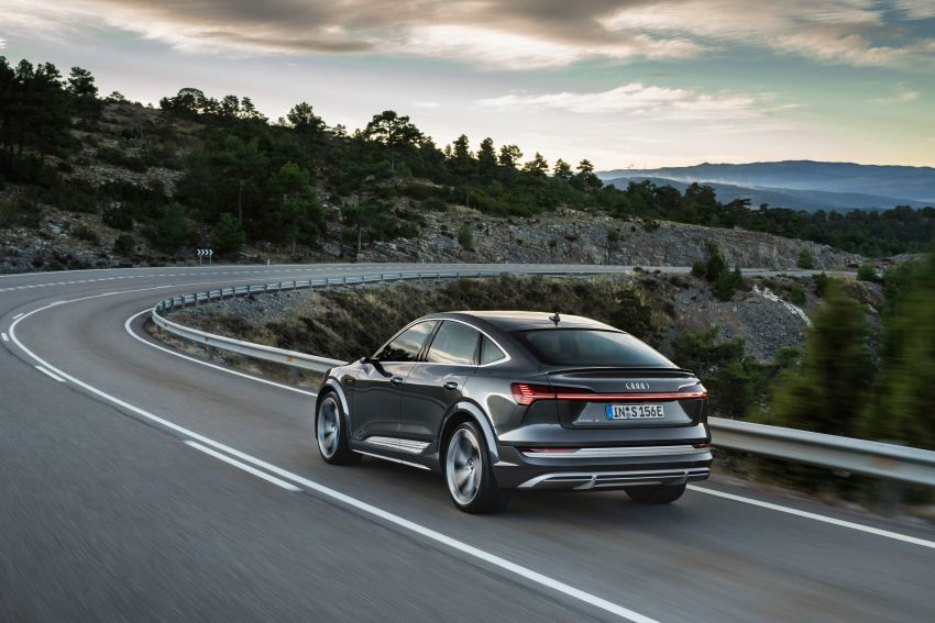 Audi e-tron S and e-tron S Sportback debut with three electric motors – 503 PS, 937 Nm; 0-100 km/h in 4.5s Image #1175689