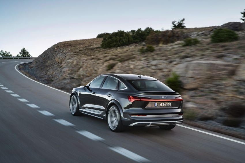 Audi e-tron S and e-tron S Sportback debut with three electric motors – 503 PS, 937 Nm; 0-100 km/h in 4.5s Image #1175690
